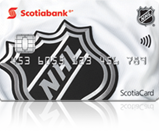 ScotiaHockey™ NHL® debit card