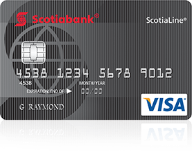 ScotiaLine Personal Line of Credit with Visa access card