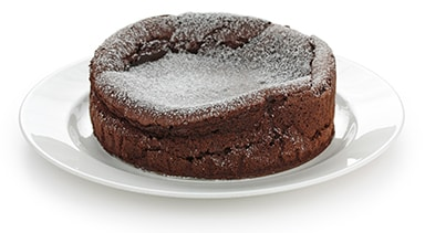 an image of a chocolate cake on a plate