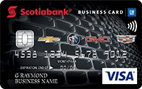 Scotiabank gm visa business card scotiabank scotiabank gm visa business card colourmoves