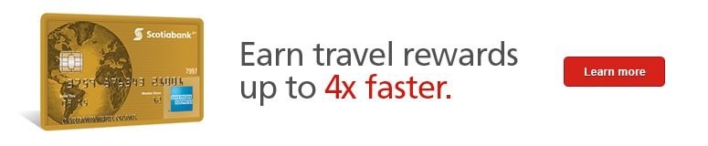 Earn travel rewards up to 4x faster.