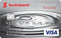 Scotia Momentum for business Visa card image