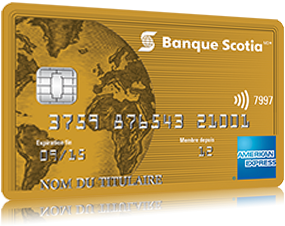 Carte American Express Banque.Carte American Express Or De La Banque Scotia Banque Scotia