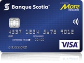 Scotiabank More Rewards* VISA* Card