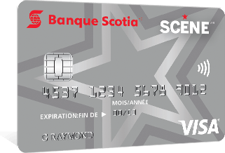 Scotiabank SCENE VISA Card
