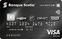 Scotiabank GM Visa card image