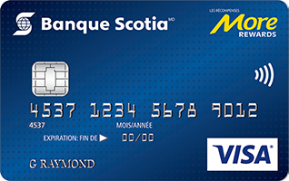 Scotiabank More Rewards Visa card image