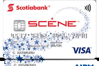 Kết quả hình ảnh cho Scotiabank Scene Visa