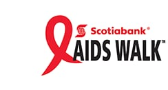 Scotiabank AIDS Walk for Life Logo