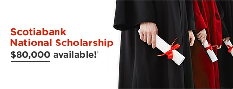 Apply for the Scotiabank National Scholarship