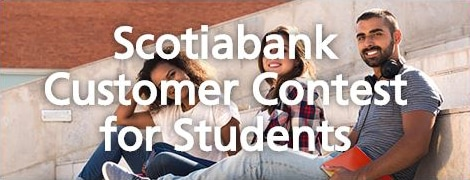Scotiabank Customer Contest for Students