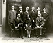 Staff of the Sussex, New Brunswick, Main Branch, December 1927.