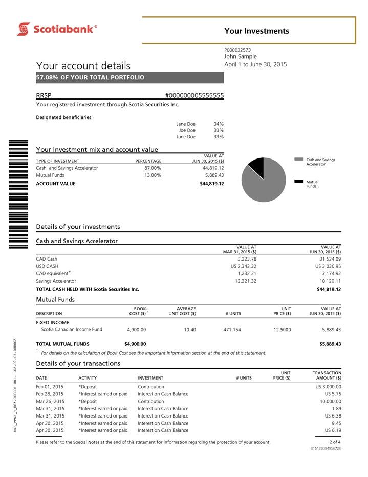 direct deposit form scotiabank  PPS Online Statement - tutorial | Scotiabank