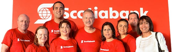 Scotiabank, ice bucket challenge