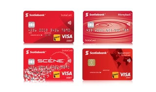 ScotiaCard Debit Cards