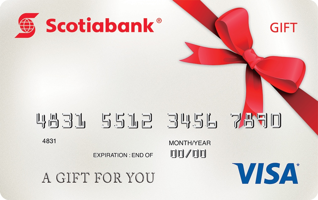 Visa Gift Card | Scotiabank