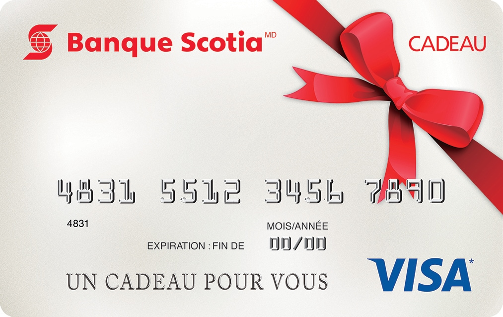 Good La Cartecadeau Visa De La Banque Scotia With Cheque Cadeau Maison Du Monde