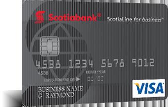 Scotialine For Business Visa Card