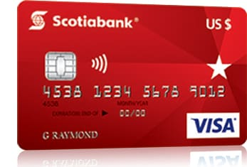 U S Dollar Visa Card Scotiabank