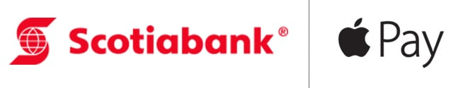 Scotiabank Logo, Apple Pay logo