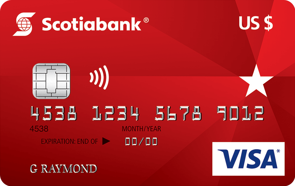 Scotiabank U S Dollar Visa Card