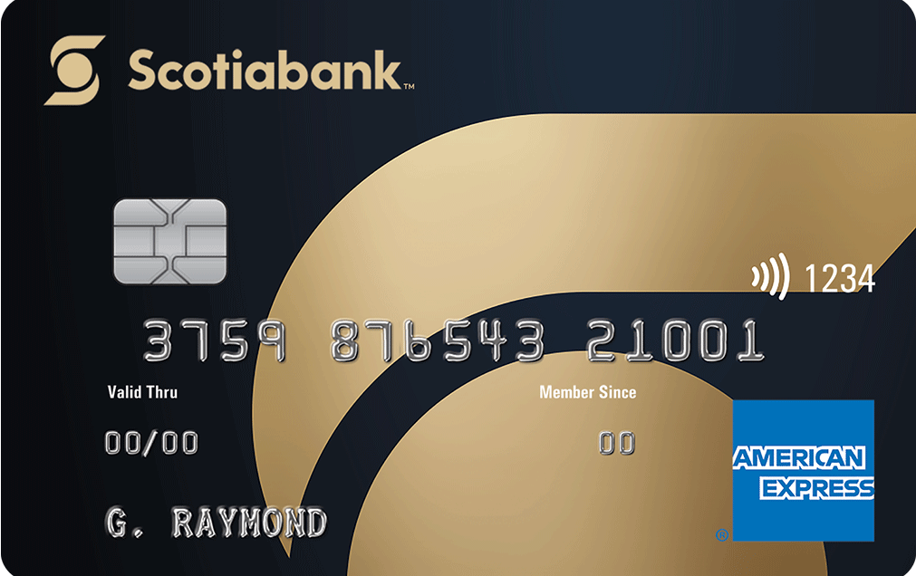 Scotiabank Gold American Express Card image