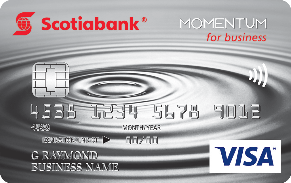 Scotia Momentum for Business Visa Credit Card