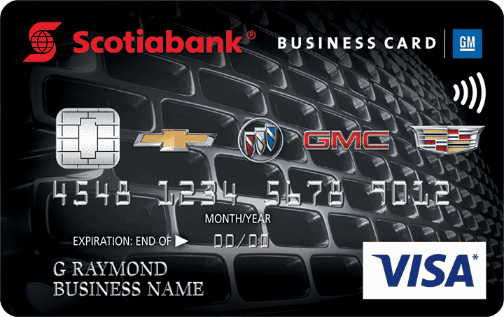 Scotiabank GM Visa Business Card