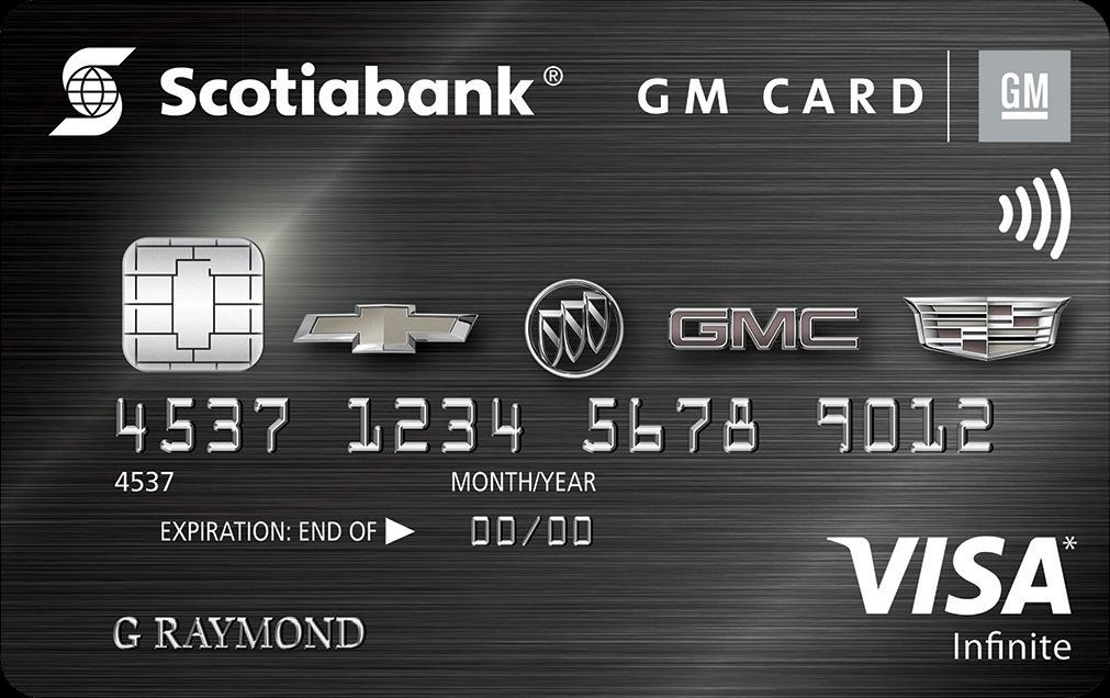 Gm visa infinite card scotiabank gm visa infinite card reheart Image collections
