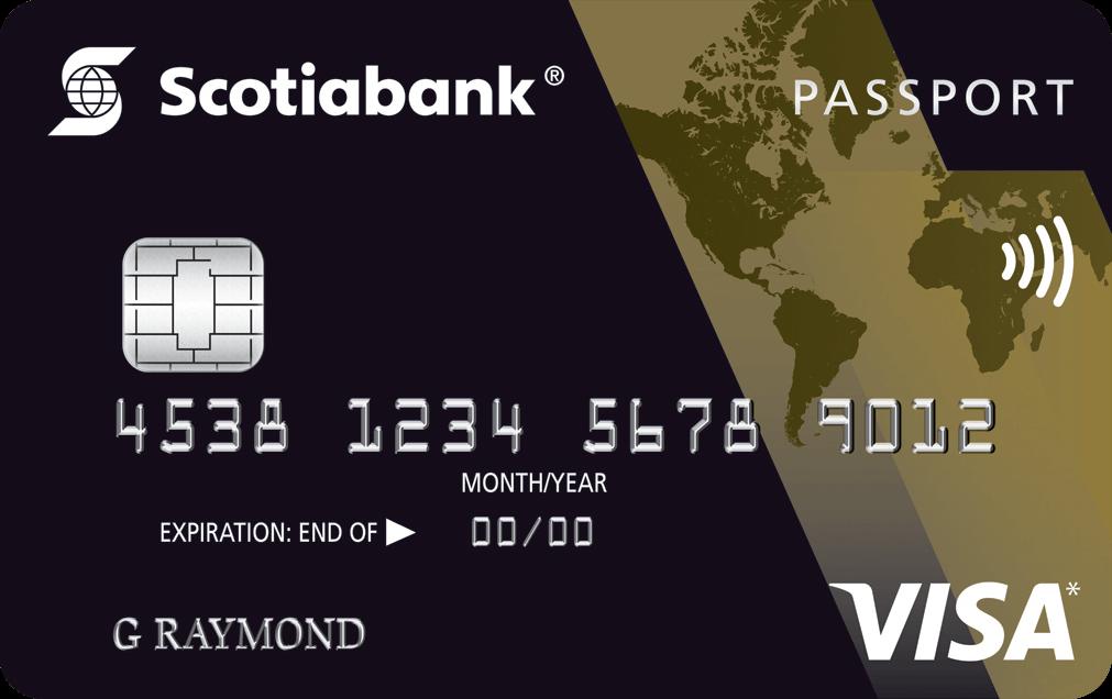 Scotiagold passport visa travel card visa card reheart Gallery