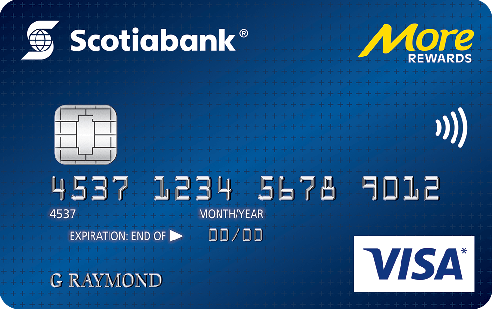 Scotiabank More Rewards Visa Card