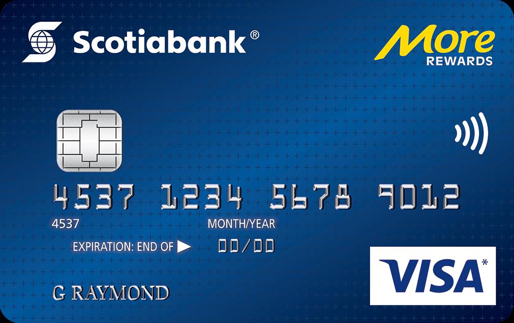 scotiabank more rewards visa card - Visa Rewards Card