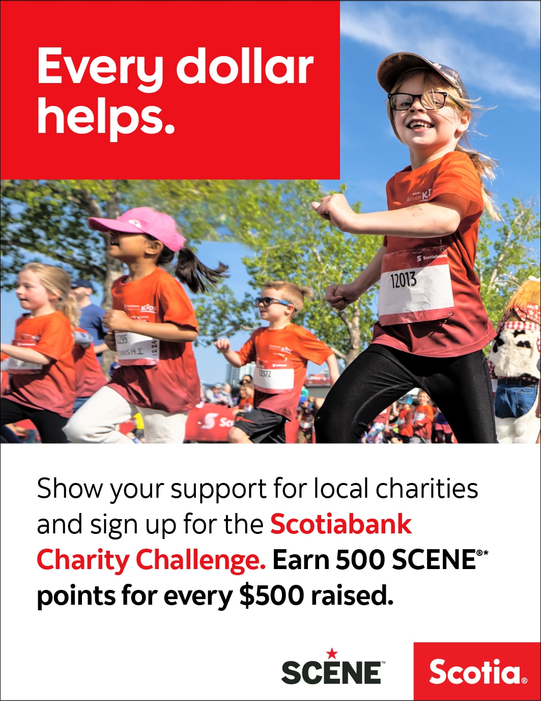 Scotiabank Charity Challenge Scene Offer