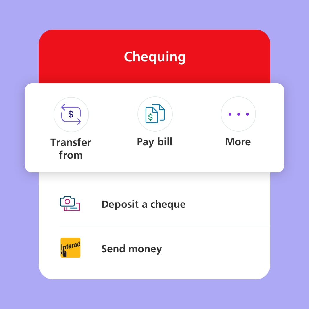 Features - Scotiabank mobile banking app