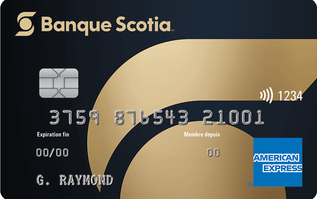 Carte American Express Or de la Banque Scotia