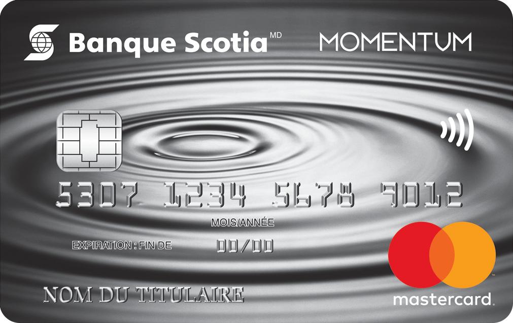 Carte De Paiement Black.Carte Mastercard Momentum Scotia