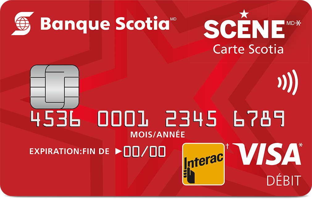 Scotia Scene Visa Debit card