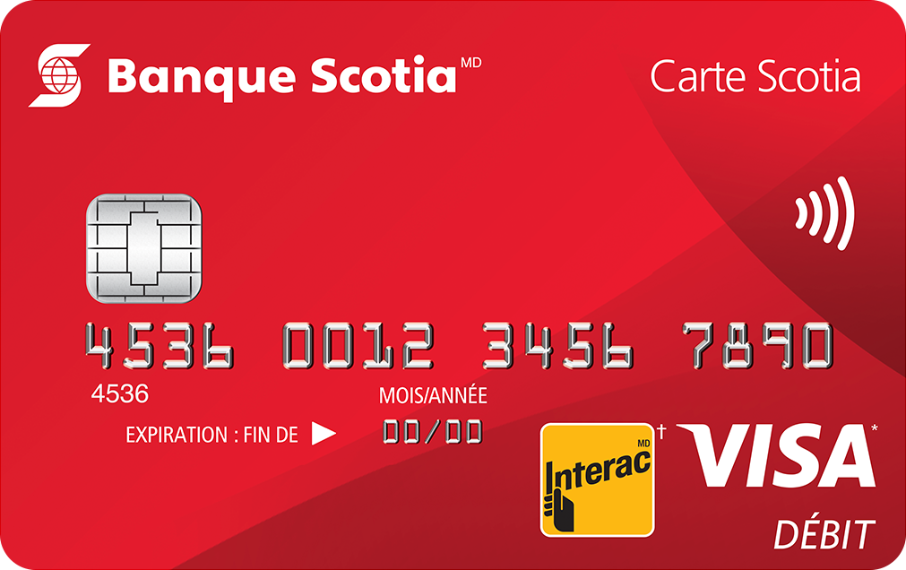 ScotiaCard Visa Debit