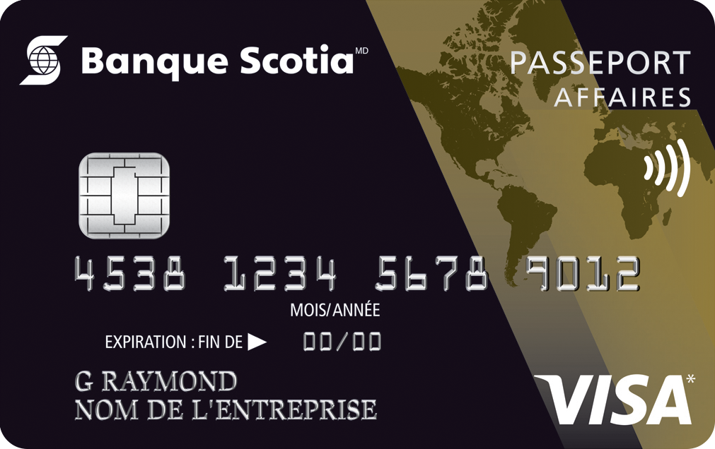 Carte Visa Or Scotia Passeport