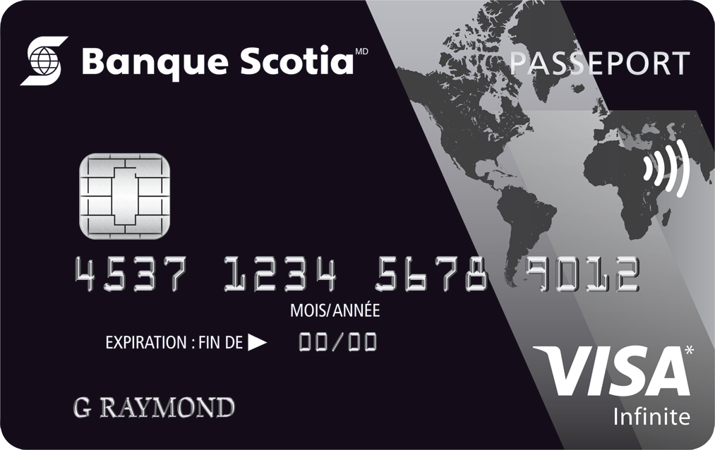Carte Visa Infinite Passeport Banque Scotia