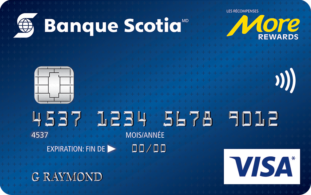 Carte Visa More Rewards Banque Scotia