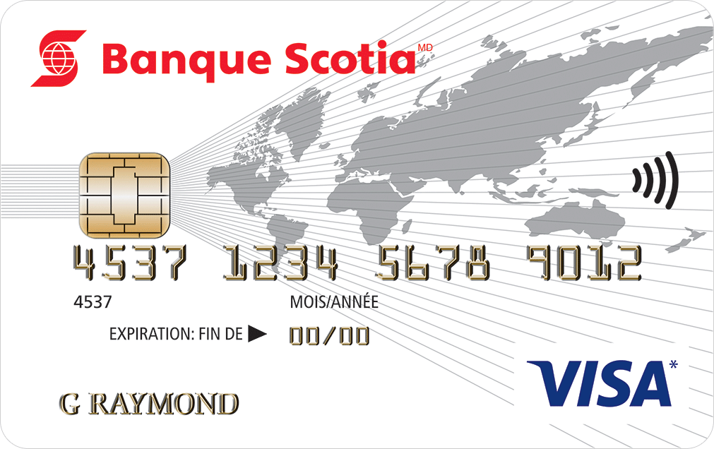 Carte Visa Récompenses de la Banque Scotia