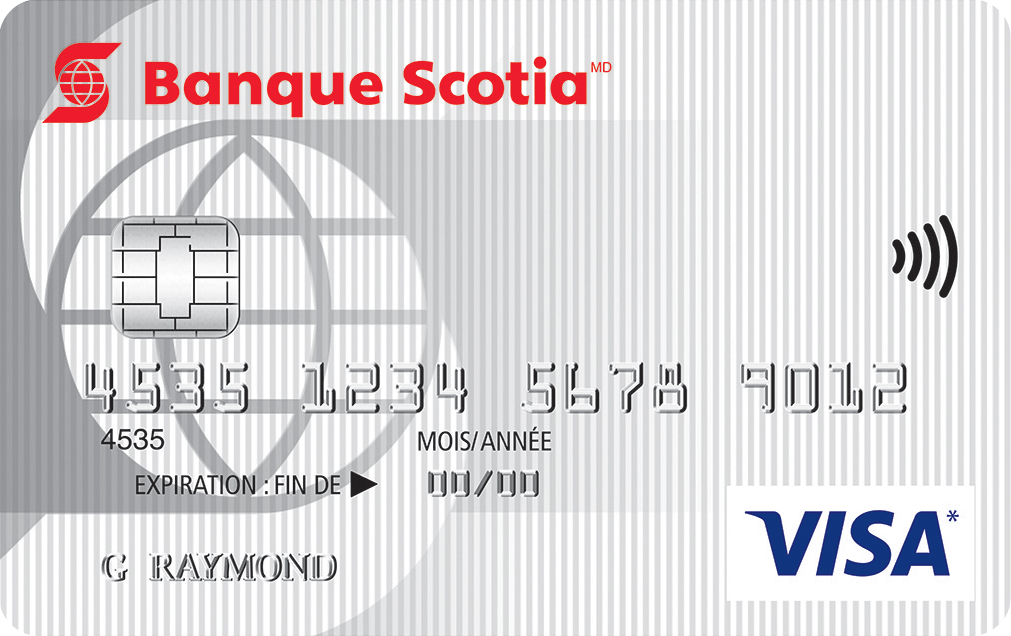 Carte Visa minima Scotia