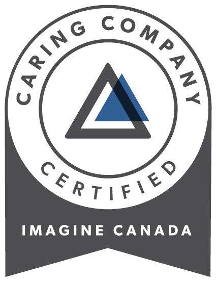 Caring Company Certified Imagine Canada logo