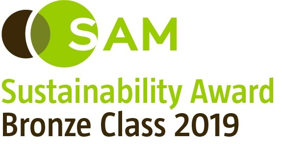 SAM Sustainability Award Bronze Class 2019