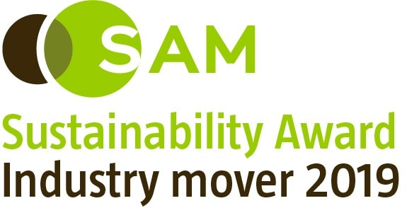 SAM Sustainability Award Industry Mover 2019