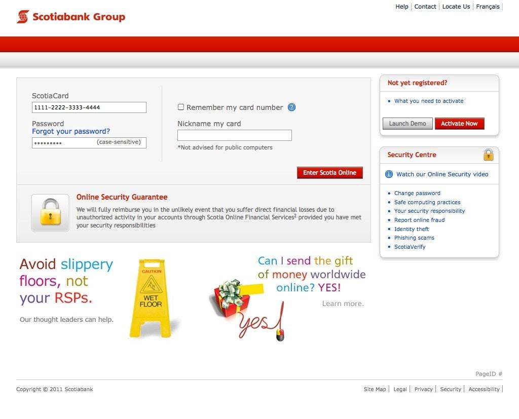 Scotiabank Online