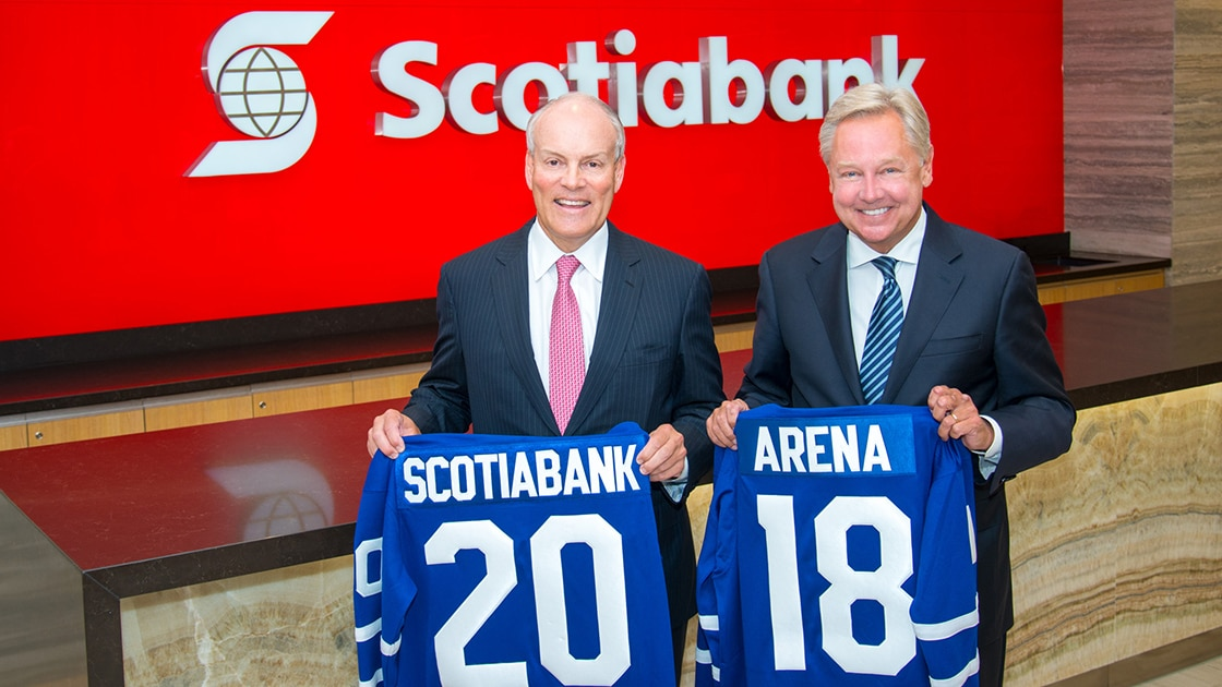 Scotiabank Arena partnership builds on 'hockey bank' brand