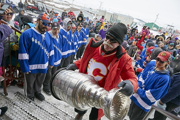 When the Stanley Cup comes to town