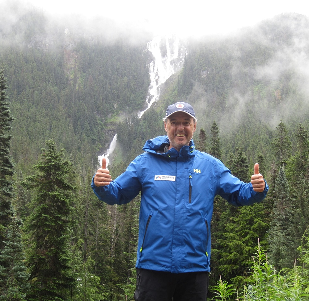 True Patriot Love's Rick Byers felt privileged to complete his second expedition, The Mackenzie, in July